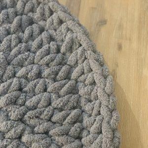 Round Crochet Play Mat