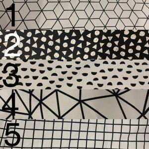 Waffle Weave and Cotton Print Nursery Decor Set